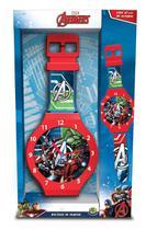 Relógio De Parede Avengers 47cms Dtc Mod 1 -