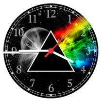 Relógio De Parede Banda Pink Floyd Rock Bar Quarto Salas Tamanho Grande 50 Cm Quartz G01 - Vital Quadros