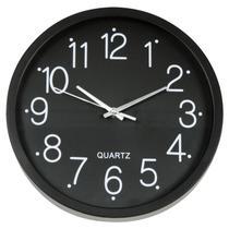 Relógio de Parede Black 30 cm Hauskraft -
