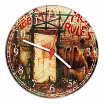 Relógio De Parede Black Sabbath Rock Decoração Quartz - Vital Quadros