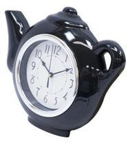 Relógio De Parede Bule Chaleira Cozinha Xícara 27x23 Cm - Yin'S