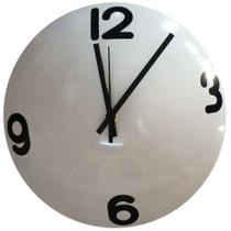 199c122261a Relógio De Parede Calota Kombi Ou Fusca Branco