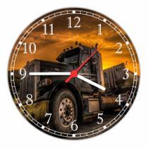 Relógio De Parede Caminhão Decoração Veículos Salas Quartz - Vital Quadros