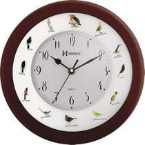 Relógio de Parede Canto dos Pássaros - Analógico - Ipê - Herweg -