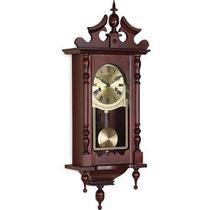 Relógio De Parede Carrilhão Em Madeira Corda Pêndulo 5352 - Herweg