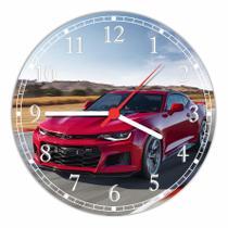 Relógio De Parede Carros Camaro Decoração Quartz - Vital Quadros
