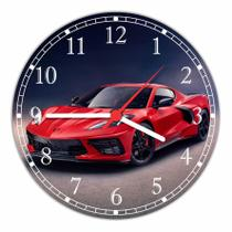 Relógio De Parede Carros Ferrari Decoração Quartz - Vital Quadros