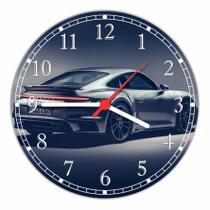 Relógio De Parede Carros Porsche Decoração Quartz - Vital Quadros