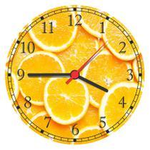 Relógio De Parede Cozinha Frutas Decorar - Vital Quadros