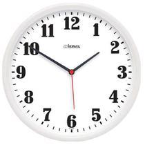 Relógio de Parede Decorativo Branco 26 cm Herweg 6126-21 -
