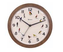 Relógio De Parede Decorativo Canto Dos Pássaros Brasileiros C/ 1 Ano De Garantia. Ref: 6658 - Herweg