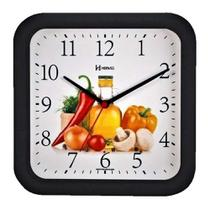 Relógio De Parede Decorativo Cozinha Herweg 660001-34 -