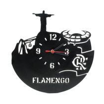 Relógio de Parede Decorativo - Flamengo Meu Time do Coração - Wvm