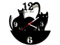 Relógio de Parede Decorativo - Modelo Cats - Me Criative