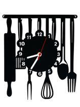4c4686b7a5f Relógio de Parede Decorativo - Modelo Cozinha