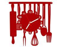 Relógio de Parede Decorativo - Modelo Cozinha - Me Criative