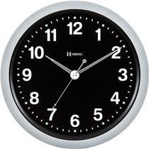 Relógio de Parede Decorativo Moderno Cromado Herweg 6817-70 -
