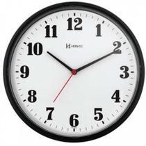 Relógio de Parede Decorativo Preto 26 cm Herweg 6126-34 -