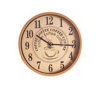 Relógio De Parede Design Torre Eiffel Paris Coffee Casa - Exclusivo