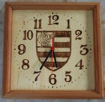 Relógio de parede do Flamengo feito a mão - Artesanal