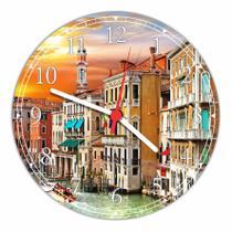 Relógio De Parede Estradas Paisagens Asfalto Decoração Quartz - Vital Quadros