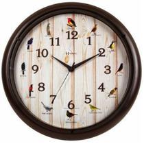 Relógio de parede HERWEG 6691-304 marrom -