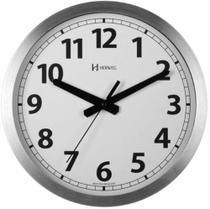 Relógio de parede HERWEG 6711-079 aluminio 30cm -