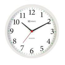 Relógio de Parede Herweg Branco 26cm 6126S-021 Silencioso -