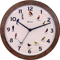 Relógio de Parede Herweg Canto dos Passaros Brasileiros -
