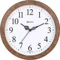 Relógio de Parede Herweg Cor Madeira Classic 26CM 660073-323 -