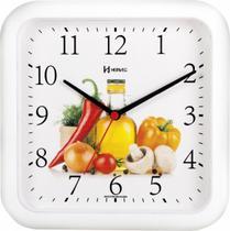 Relógio de Parede Herweg Cozinha Branco 660001-021 -