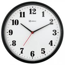 Relógio de Parede Herweg Preto 26cm 6126-034 -
