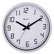 Relógio De Parede Herweg Ref: 6722-064 Prateado Alumínio -