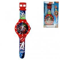 Relógio De Parede Infantil Vingadores 3795 47cm - Esm
