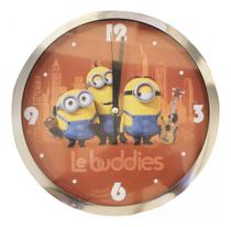 Relógio De Parede Le Buddies Minions Meu Malvado Favorito - Taimes