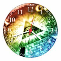 Relógio De Parede Maçonaria Maçons Decoração Quartz - Vital Quadros