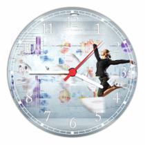 Relógio De Parede Marketing Negócios Decoração Quartz - Vital Quadros
