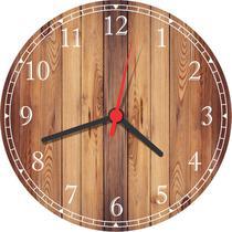 Relógio De Parede Modelo Rústico Decorar - Vital Quadros