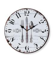 Relógio de Parede p/ Cozinha Mek 30cm COZINHA 01 - Jolitex