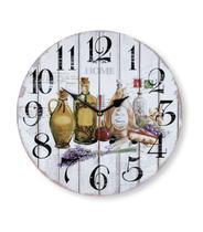 Relógio de Parede p/ Cozinha Mek 30cm COZINHA 02 - Jolitex