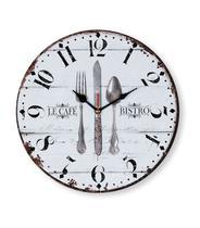 Relógio de Parede p/ Cozinha Mek 30cm - Jolitex