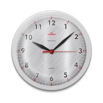Relógio de Parede para Cozinha Redondo Moderno Branco - Plashome