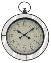 Relógio de parede Vintage Cobre e espelho - 44 cm - Imporiente