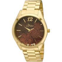 Relógio de Pulso Condor Feminino CO2036CT/4M - Dourado -