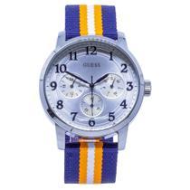 529ec1500c7 Relógio de Pulso Guess Masculino com Pulseira de Nylon 92647GOGDNN2 -  Prata
