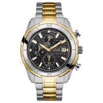 Relógio de Pulso Guess Masculino Misto 92593GPGSB/A2 - Prata e Dourado -