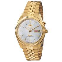 Relógio de Pulso Orient Automático Unissex 469EC7 B1KX - Dourado -
