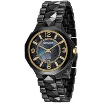 Relógio de Pulso Seculus Feminino 20540L0SVNQ1 - Preto -