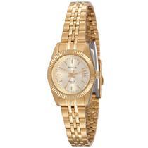 Relógio de Pulso Seculus Feminino Clássico Long Life 25538LPSVDA1 - Dourado -