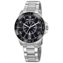 Relógio de Pulso Seculus Masculino 20898G0SVNA3 - Prata -
